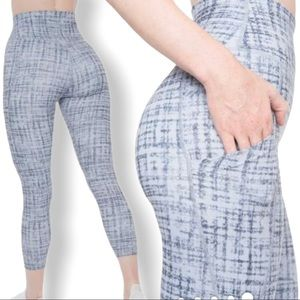 "P'TULA ""The Alainah III"" High Rise Pocket Leggings"